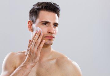 Gesichtspflege Männer