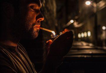 Rauchen - Haut